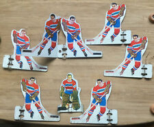1960's Munro / Tudor Table Hockey Players Montreal Canadiens With Extra Attacker