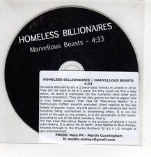 (HF738) Homeless Billionaires, Marvellous Beats - DJ CD