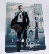 CASINO ROYALE 007 Bond - Glossy Bluray Steelbook Magnet Cover (NOT LENTICULAR)
