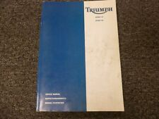 1999-2001 Triumph Sprint ST RS Motorcycle Shop Service Repair Manual 2000