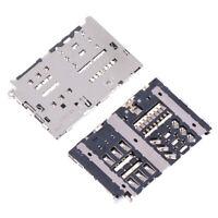 Sim Card Reader Slot Module Holder Connector For Lg G6 H870 Ls993 Vs988 Socke JE