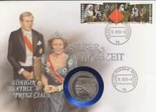 Numisbrief Nederland 2,5 ECU 1991 - Beatrix en Claus Zilver Huwelijk (073)