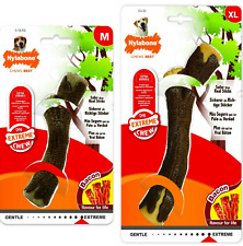 Nylabone Extreme Dog Chew Bacon Flavour for LIFE-Safer than Real Sticks -M or XL