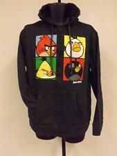 NEW-minor-hole Angry Birds Adult Mens Hoodie Full-zip-Jacket Size S Small