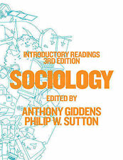 Sociology: Introductory Readings, Sutton, Philip W., Giddens, Anthony, Very Good