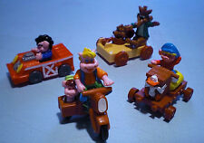McDonald's 1991 - Piggsburg Pigs - Complete Set of 4
