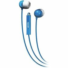 Maxell Earbuds with Mic - Blue