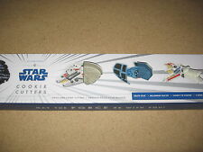 Star Wars Cookie Cutters Ships  Williams Sonoma NEW!!