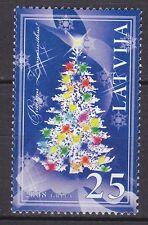 LATVIA 2008**MNH SC#  725  Christmas stamp