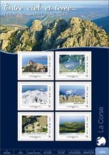 france 2013 Collector French Corse mountains nature lake valley castle rock ms 6