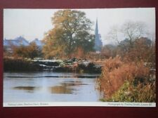 POSTCARD DERBYSHIRE ROLISTON - BEEHIVE FARM FISHING LAKES
