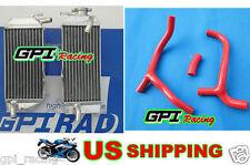 Honda CRF450R CRF 450R CRF450 09 10 11 12 2010 2011 Aluminum radiator & hose