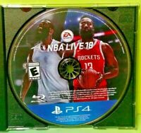 NBA Live 18 Basketball Game James Harden - Sony Playstation 4 PS4 - Tested