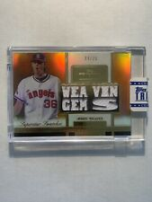 Jered Weaver 2012 Topps Tribute Orange Jersey Jsy /25 Angels Superstar Swatches