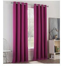 "Bed Bath & Beyond Newport College 100% Cotton 2- APair Panels Purple 63"" Length"