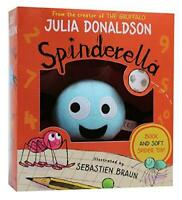 Spinderella Book & Plush Toy Children Gift Pack Set Paperback By Julia Donaldson