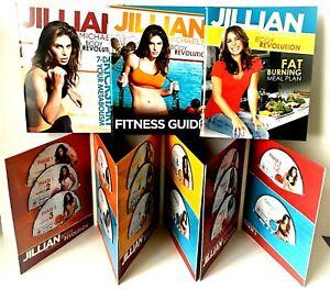 Jillian Michaels Body Revolution 15 Disc DVD Weight Loss System Guide Meal Plan