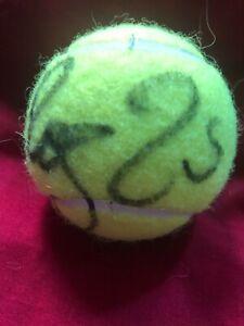 Roger Federer Serena Williams  signed  tennis ball super Rare big 3