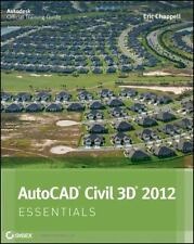 AutoCAD Civil 3D 2012 Essentials by Chappell, Eric in Used - Very Good
