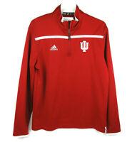 Adidas IU Indiana University Men's Small Quarter-Zip Pullover