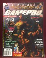Vintage GAMEPRO Video Game Strategy Magazine December 2996 #99 Mortal Kombat
