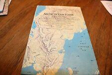 Map: Arctic Ocean Floor