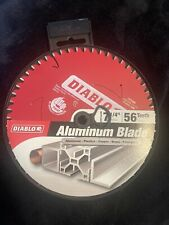Diablo D0756N 7-1/4 in. x 56 Tooth Thick Aluminum Cutting Saw Blade