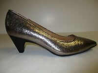 Sofft Size 9.5 M ALTESSA II Anthracite Leather Pumps Heels New Womens Shoes
