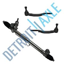 New Power Steering Rack and Pinion + Outer Tie Rods Chevy Trailblazer Gmc Envoy