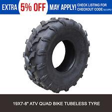 "19x7-8"" inch Tubeless ATV Quad Front Tyre Compatible Suit Suzuki LT80 Quadsport"