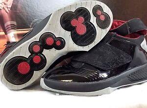 Pre-owned Mens Nike Air Jordan XX Black Red Basketball Sneakers 310455 001 12 OG