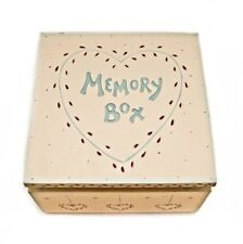 East of India Wooden Memory Box for Keepsakes BRAND NEW