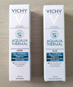 VICHY AQUALIA THERMAL REHYDRATING RICH CREAM / LIGHT CREAM 30ML