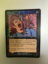 Duress Foil 7th edition Magic the gathering MTG