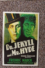 Dr Jekyll and Mr Hyde Lobby Card Movie Poster Fredric March