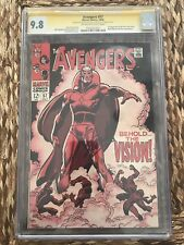 The Avengers #57 Cgc 9.8 SS Lee 1 Of 2 In Existence - 1st Appearance Of Vision