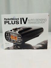 NIB Never Used POCKETWIZARD Plus IV Auto-Sensing Transceiver - Part PW-PLUS4-FCC