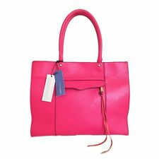 AUTHENTIC REBECCA MINKOFF 'Mab' Medium Tote Bag - Fuchsia Hot Pink NWT RARE