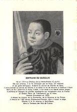 BR18043 Bertrand du Guesclin  postcard historical figures   france