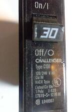 CHALLENGER C130 TYPE C PLUG ON 1 POLE 30 AMP CIRCUIT BREAKER
