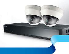 SAMSUNG SRK-3020S KIT 1x 4CH PoE a NVR con 2x 3.6mm Full HD 1080p telecamere CCTV Dome