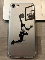 Coque Protection neuve Iphone 7 ou Iphone 8 silicone souple Basketball Air Dunk