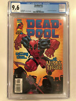 Deadpool #2, (1997) CGC 9.6 (NM+), Taskmaster & Siryn. Marvel Comics
