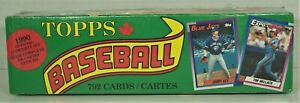 Topps / O-Pee-Chee Baseball Cards - 1990 Official Complete Set - Factory-Sealed