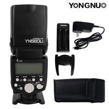 YONGNUO YN560Li GN58 Speedlite Flash For Canon Nikon Camera DSLR Charging 18650