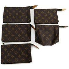 Louis Vuitton Monogram Cosmetic Pouch 5 pieces set 516872