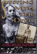 SLEEPING WITH THE DEVIL-A TRUE STORY-SUZANNE FINSTAD-HARDBACK-379 PAGES-1991