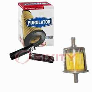 Purolator Fuel Filter for 1951-1952 Packard 300 Gas Pump Line Air Delivery wj