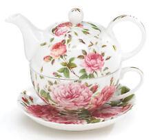 Porcelain Rose Teapot And Teacup Set