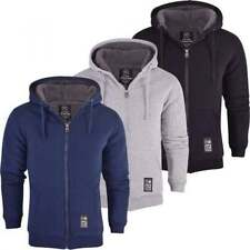 Patternless Hooded Jumpers for Men